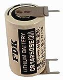 FDK CR14250SE-FT Battery CR14250SE 1/2AA 3V with 3