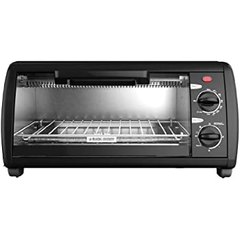Amazon Com Black Amp Decker To1412b 4 Slice Toaster Oven