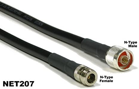 MPD Digital MN-1208-PZ8G Times Microwave USA LMR-400 50 0HM Coxial Cable Made in The USA 20 feet
