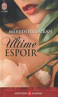 Ultime espoir par Meredith Duran