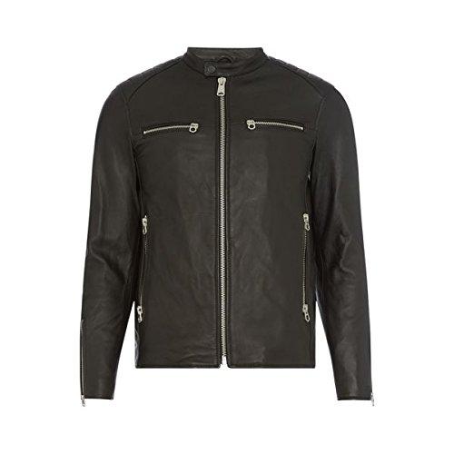 [リプレイ] メンズ ジャケット&ブルゾン Zip-front Biker Jacket [並行輸入品] B07F327FTF Large