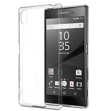 Cases & Covers, Transparent Ultra-Thin TPU Soft Back Case For Sony Xperia Z5/Z4/Z3/Z2/Z3mini/Z5mini/T3/M2/M4/E3/E4/E4G/C4 ( Compatible Models : Xperia C4 )