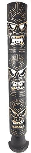 Ku Tiki Mask (Triple Headed Tiki Mask w/ Stand 60