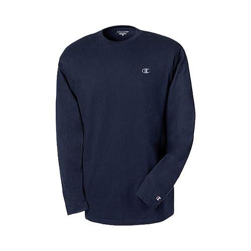 delicado Champion - Camiseta deportiva - Manga Larga - para hombre ... bcca602bba2a7