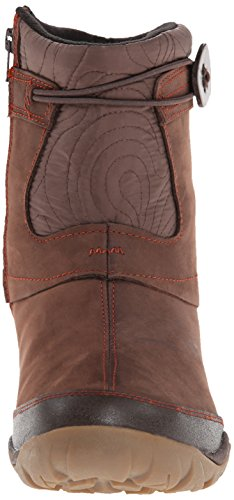 Zip Merrell Boot Winter Waterproof Dewbrook Women's Espresso 00wqEB7r