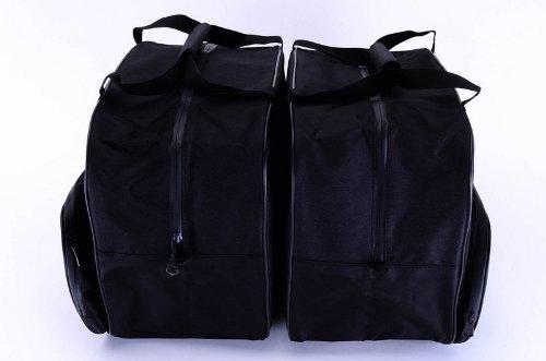 LGBM-K16-SDL Bestem Black Saddlebag Liners for BMW K1600GT R1200RT 2014+