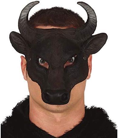 FIESTAS GUIRCA Media Mascara Toro Foam: Amazon.es: Juguetes y juegos