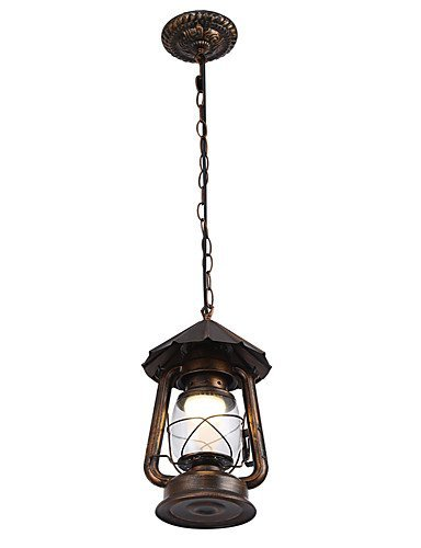 qiuxi High-end fashion Interior Ceiling lamp MAX40W Pendant Light , Modern/Contemporary / Traditional/Classic / Rustic/Lodge / Vintage / Retro / Drum Chandelier , 110-120v Brass Hall Lanterns