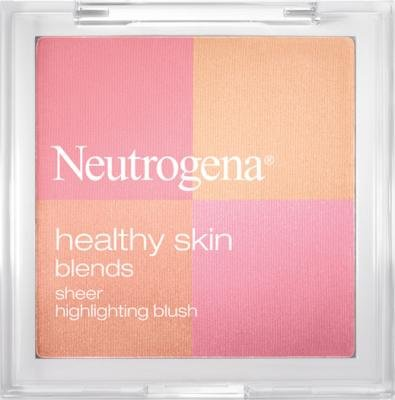 Neutrogena Healthy Skin Blends Pure Sheer Highlighting Blush, 20 Pure (Pack of 3)