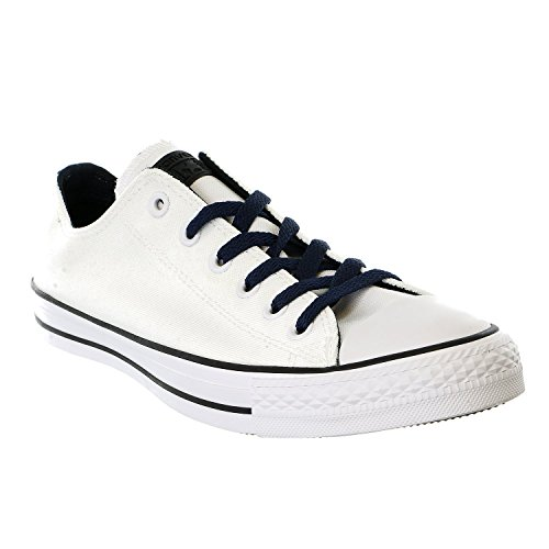 Converse Mens Chuck Taylor All Star Ox Stagionale Bianco / Ossidiana / Nero