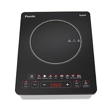 Preethi Excel Plus 117 1600-Watt Induction Cooktop (Black) 8