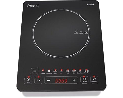 Preethi-Excel-Plus-117-1600-Watt-Induction-Cooktop-Black