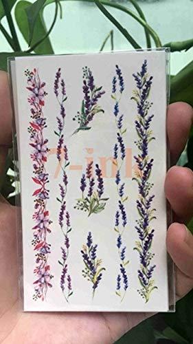 AZJTZ 25 diseño Impermeable Tatuaje Temporal Pegatina Lindo Sexy ...