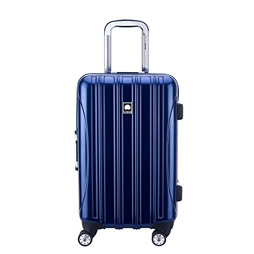 Spinner 21 Case (Delsey Luggage Aero Frame 21 Inch Spinner, Cobalt Blue)