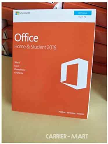 MS Office 2016 Home and Student - New for USA - Boxed Product