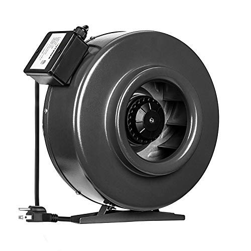 VIVOSUN 8 Inch 740 CFM Inline Duct Fan Vent Blower Ventilation Fan for Grow Tent ETL Certified (Best Fan For Grow Tent)