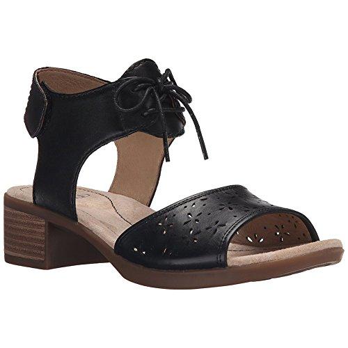Dansko Snygga Liz Kvinnor Plattformar Och Kilar Sandaler, Elegant Skor, Mode Svart Veg