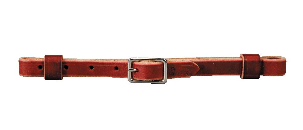 colorado Saddlery Unisex-Adult The colorado Saddlery Latigo Leather Curb Strap 6-55, Brown, 5 8-Inch