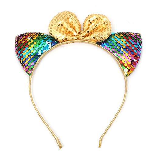 I will take action now Sequined Hair Accessories