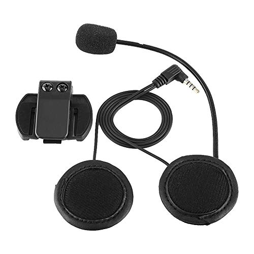 Anauto Accessories Bluetooth Headset Headphone Microphone for V4/V6 Motorcycle Helmet Intercom