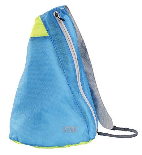 Lewis N Clark Electrolight Sling Pack, Bright Blue/Neon Lemon ()