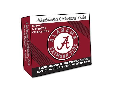 Alabama Crimson Tide: The 2009 Perfect Season DVD Collection by TeamMarketing by Tcg (Tcg Series)