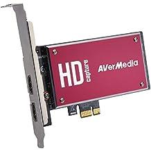 AVerMedia DarkCrystal HD Capture SDK II, Input Source: HDMI/DVI(Adapter)/Component/Composite/S-Video, PCI-E Frame Grabber (C729)