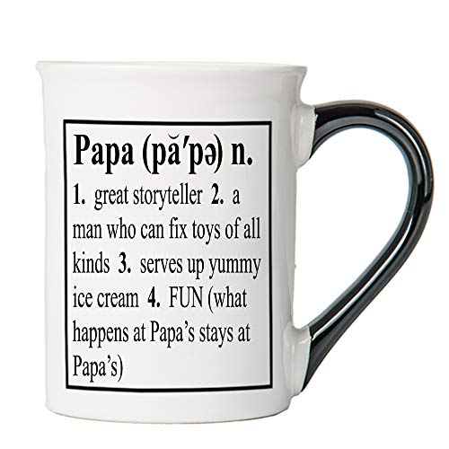 Papa Mug, Papa Coffee Cup, Ceramic Papa Mug, Father