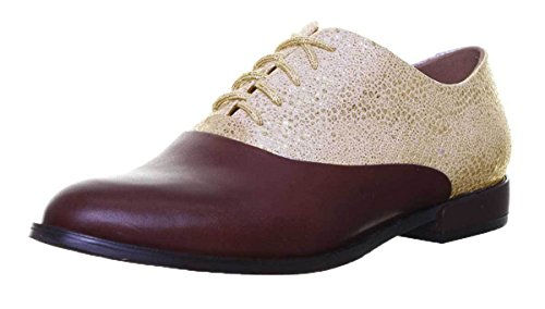 Justin 9300 Gold Stringate Brown Scarpe Donna Reece qCq7nR