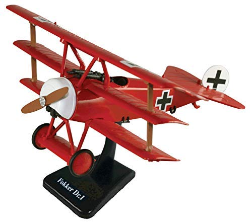 InAir E-Z Build Fokker Dr.1 Model Kit (Red Baron Model)