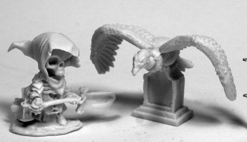 Reaper Miniatures Mr. Bones & Buzzy #77485 Bones Unpainted Plastic Mini Figure