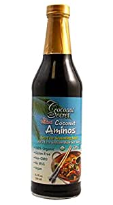 Coconut Secret The Original Amino Soy-Free Seasoning, 16.9 Ounce