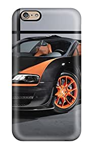Ideal Case Cover For Iphone 6(2013 Bugatti Veyron 16 4 Grand Sport Vitesse), Protective Stylish Case 5087973K46543694