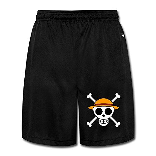 HYRONE Men's One Piece Logo Workout Pants Black Size XXL