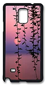 The Beautiful Scenery of The Lake DIY Hard Shell Black Designed For Samsung Galaxy Note 4 Case