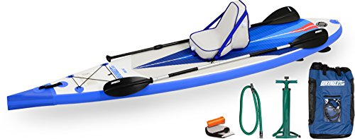 Sea Eagle NN116K Needle Nose Inflatable Stand-Up Paddle Board with Deluxe Accessory Package by Sea Eagle