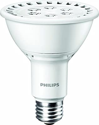 Philips 420497 13-watt PAR30L LED 2700K Dimmable Indoor Flood Light Bulb