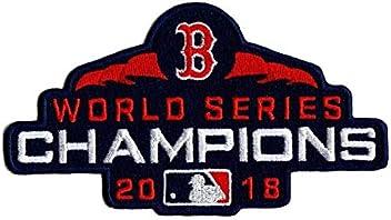 5601f1050 Baseball RED SOX World Series Champions Patch 2018 World Series Champs Patch  Embroidered Sleeve Style Patch