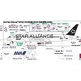全日空商事 1/200 787-9 JA899A STAR ALLIANCE 限定 完成品