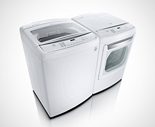 LG POWER PAIR SPECIAL-Mega Capacity High Efficiency Top Load Laundry System with GAS Dryer *Pure White* (WT1701CW_DLGY1702W) (Laundry Machine Lg compare prices)