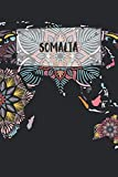 Somalia: Ruled Travel Diary Notebook or Journey  Journal - Lined Trip Pocketbook for Men and Women with Lines