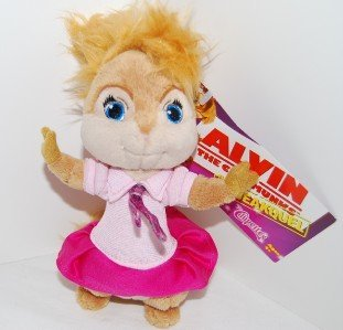 Alvin and the Chipmunks Mini Plush Chipette Brittney
