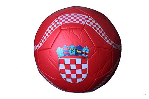 Croatia Hrvatska RED Country Logo FIFA World Cup Soccer Ball Size 5.. New