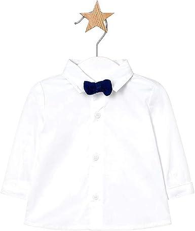 Mayoral 1106 - Camisa para bebé con lazo extraíble, color ...