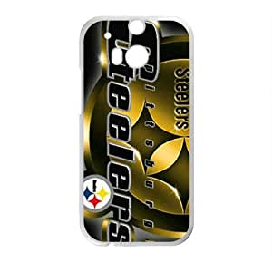 Happy NFL Steelers Cell Phone Case for HTC One M8