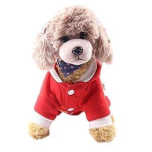 Fossrn-Disfraz-Navidad-Perro-Ropa-Mascotas-Sudaderas-con-Capucha-para-Cachorros-Chihuahua-Yorkshire