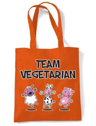 Color Bolsa Hombro De Naranja Asas De Vegetariana Equipo ggptvwqx