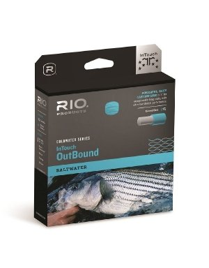 Rio Fly Fishing InTouch Saltwater Outbound Short Fly Line WF10F