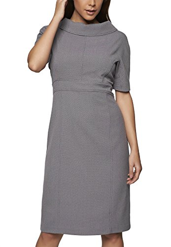 APART Fashion Kleid, Vestido para Mujer Gris
