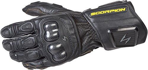 (ScorpionExo SG3 MKII Men's Long Gauntlet Sport Gloves (Black, Large))